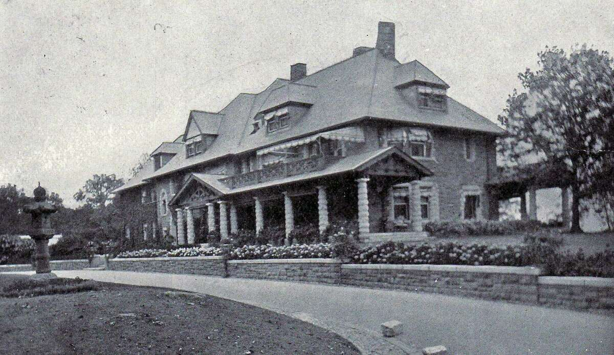The estate of William Ziegler Jr. His father purchased Great Island in 1902 for a summer estate.