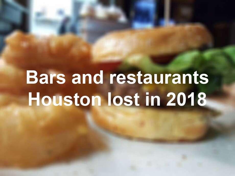 . Photo: Restaurants, Bars, Closed, 2018, Houston, Texas