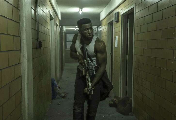 """This image released by Universal Pictures shows Y'lan Noel in a scene from """"The First Purge."""""""