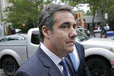 """FILE - In this May 30, 2018 file photo, attorney Michael Cohen arrives to court in New York. Cohen, President Donald Trump's longtime personal attorney says porn actress Stormy Daniel's lawyer is running a """"smear campaign"""" and insists a federal judge must step in and issue a gag order. An attorney for Cohen filed papers Monday, July 2, 2018, in federal court in Los Angeles. (AP Photo/Seth Wenig, File)"""