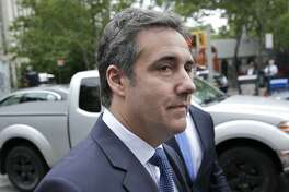 "FILE - In this May 30, 2018 file photo, attorney Michael Cohen arrives to court in New York. Cohen, President Donald Trump's longtime personal attorney says porn actress Stormy Daniel's lawyer is running a ""smear campaign"" and insists a federal judge must step in and issue a gag order. An attorney for Cohen filed papers Monday, July 2, 2018, in federal court in Los Angeles. (AP Photo/Seth Wenig, File)"
