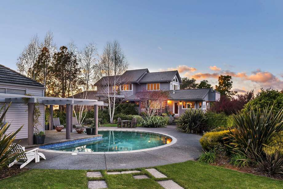 4522 Bennett Valley Road in Santa Rosa is a three-bedroom available for $3.45 million. Photo: Brian McCloud Photography
