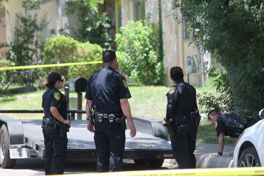 A man was shot three times outside his Northeast Side home on July 3, 2018. Photo: Fares Sabawi/San Antonio Express-News