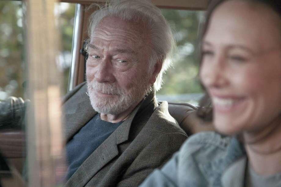 """From left, Christopher Plummer as Jack and Vera Farmiga as Laura in the film, """"Boundaries."""" Photo: Lindsay Elliott, HO / TNS / TNS"""