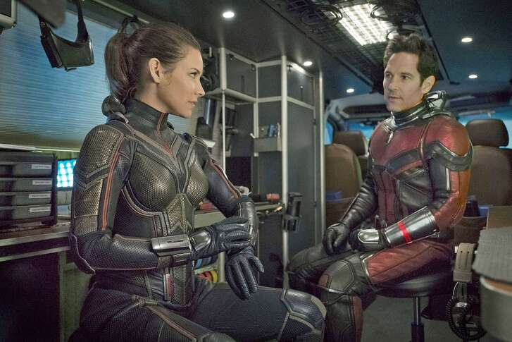 """Evangeline Lilly and Paul Rudd in """"Ant-Man and the Wasp."""""""