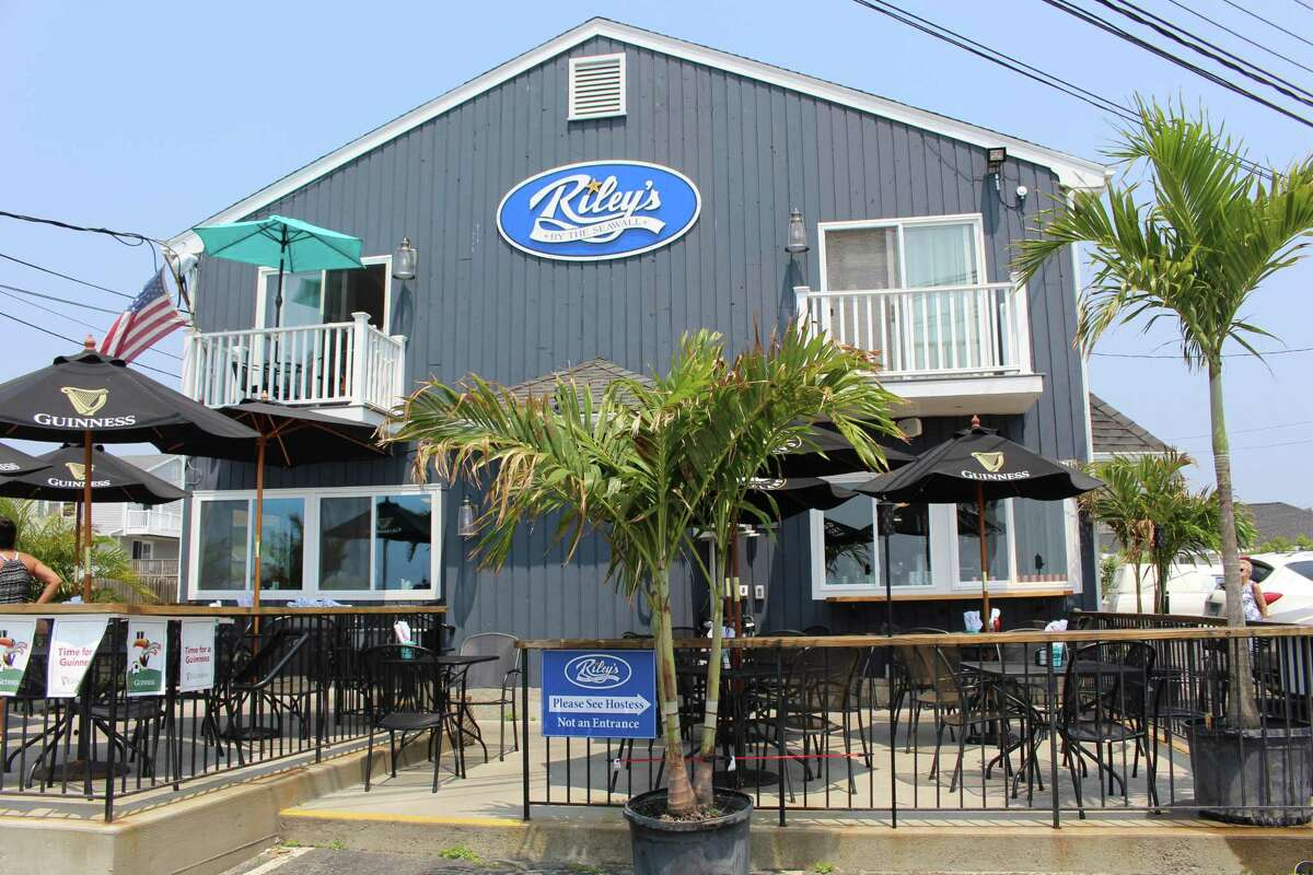 Riley's by the Seawall at 14 Beach Drive in Stratford.