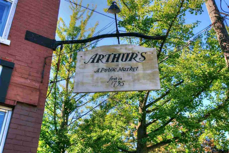 The iconic Arthur's Market in the historic Stockade neighborhood is on the market after years of financial strain. See the listing. Photo: MLS