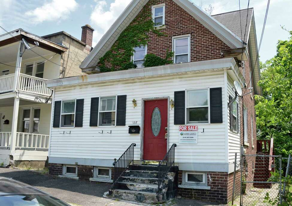 House at 157 S. Hawk Street Tuesday July 3, 2018 in Albany, NY. (John Carl D'Annibale/Times Union)