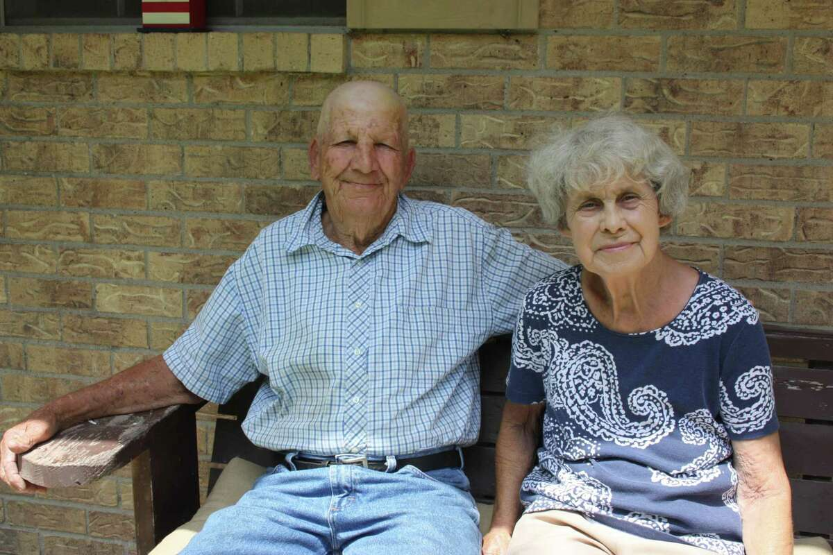 Tom and Mizell, married for 50 years, believe that God spared Tom's life from a vicious bee attack on June 26 in Tarkington. The 81-year-old man suffered more than 1,000 bee stings after disturbing a hive while mowing a pasture. >>See the other bugs you'll find when out and about this summer.