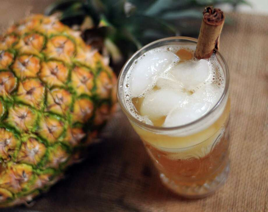 Tepache is a naturally fermented beverage dating to pre-Columbian Mexico most often made from pineapple today. Photo: Paul Stephen /San Antonio Express-News