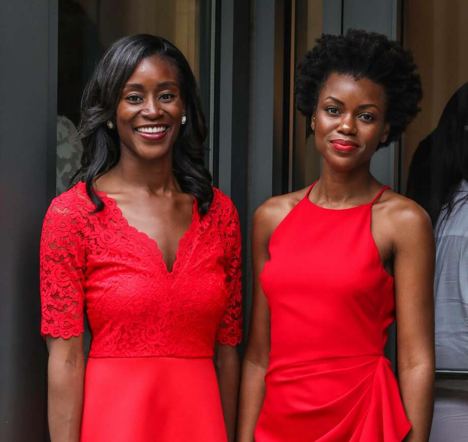 Maude Okrah and Simone Tetteh founded Bonnti, a new mobile app to help women of color find a hair stylist. Photo: Courtesy Photo