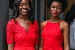Maude Okrah and Simone Tetteh founded Bonnti, a new mobile app to help women of color find a hair stylist.