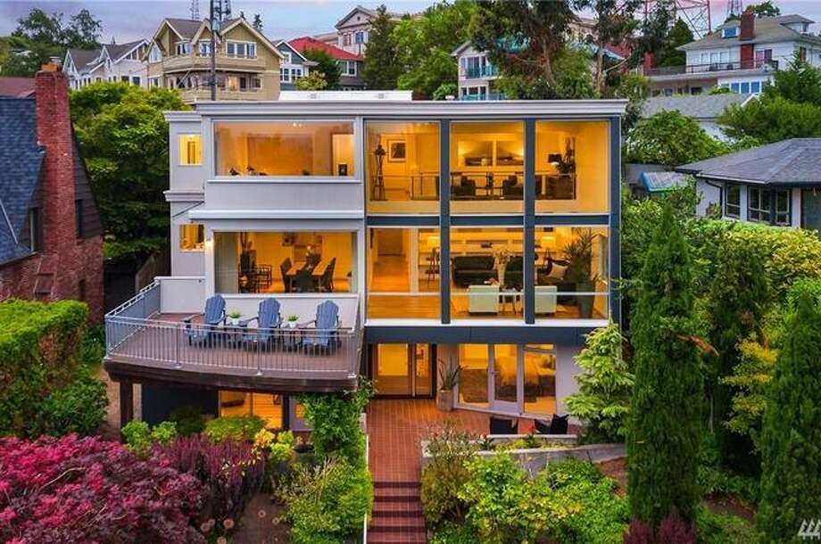 1241 Bigelow Ave N, Seattle, WA 98109 listed for $4,980,000. See full listing below. Photo: Amarylis Lockhart
