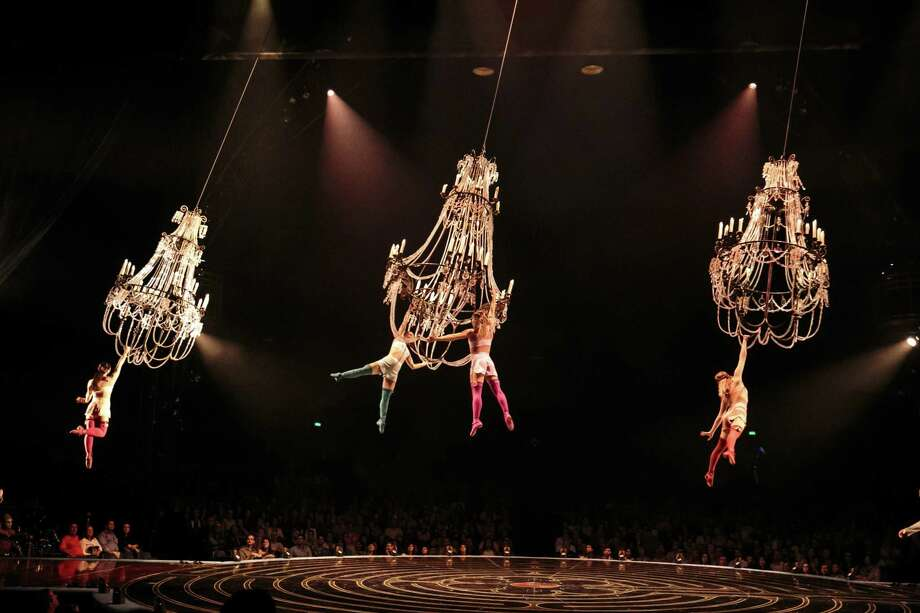 "Cirque du Soleil's ""Corteo"" tour, stopping at Bridgeport's Webster Bank Arena July 18-22, features 51 acrobats, musicians, singers and actors from 18 different countries. Photo: Lucas Saporiti / Contributed Photo / Lucas Saporiti"