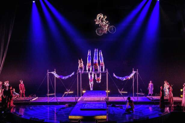 """Cirque du Soleil's """"Corteo"""" tour, stopping at Bridgeport's Webster Bank Arena July 18-22, features 51 acrobats, musicians, singers and actors from 18 different countries."""