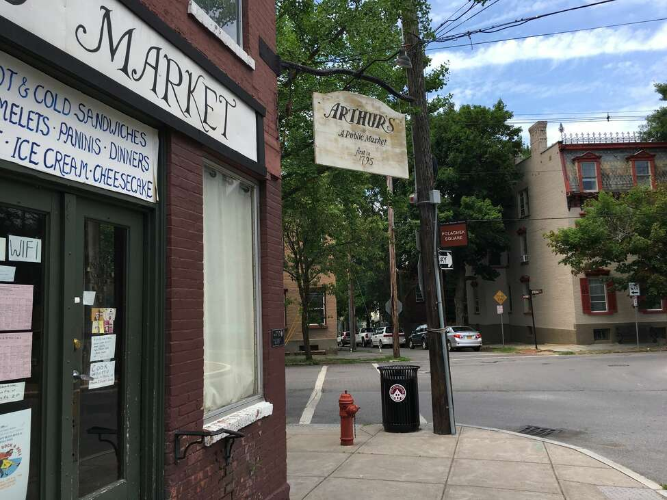 Arthur's Market at 35 N. Ferry St. in Schenectady has been sold to a new owner who expected to overhaul the building that sits at the hub of city's original Stockade neighborhood.