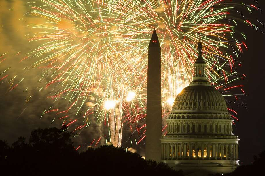 The Fourth of July White House concert used to be a sea of ...