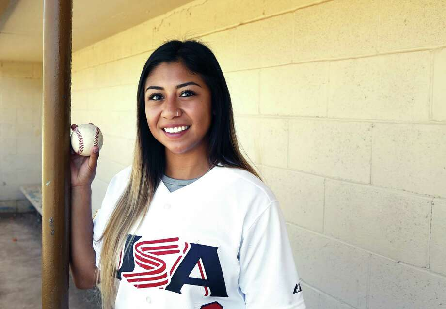 Former New Braunfels Canyon and Iowa State softball star Brittany Gomez plays for the USA Baseball women'ts national team. Photo: Ronald Cortes / / 2018 Ronald Cortes