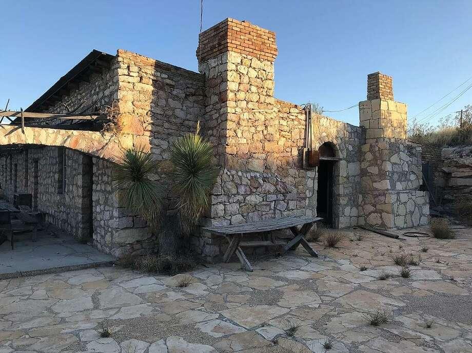 The main house at The Villa de la Mina, a ghost town in Terlingua, which is near Big Bend in West Texas. The Villa de la Mina is for sale for $1.75 million. Photo: Courtesy Of The Villa De La Mina