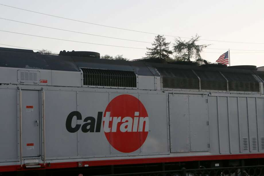A Caltrain leaves the Palo Alto Station on Wednesday, June 13, 2018 in Palo Alto, Calif. Photo: Liz Moughon, The Chronicle