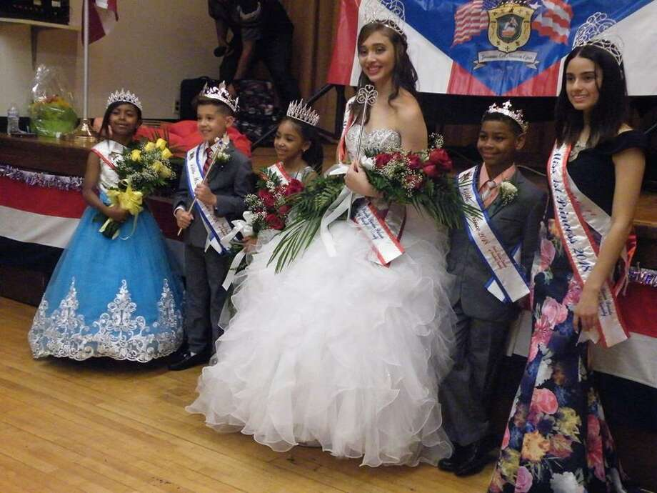 The  Puerto Rican Parade of Fairfield County Royal Court, which will be leading the 25th anniversary edition of the Puerto Rican Parade, scheduled for Sunday, July 8, 2018. Photo: Contributed Photo