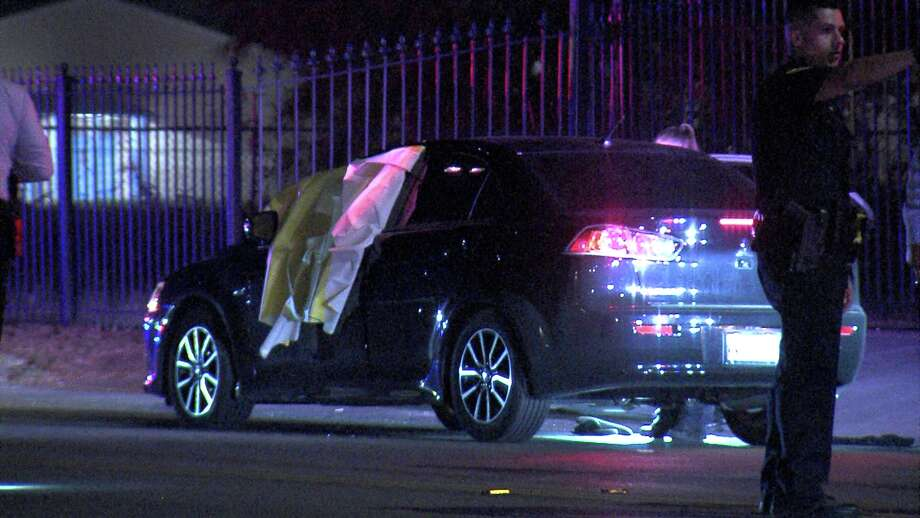 The two drivers involved in the road rage dispute were headed westbound in the 2700 block of Castroville Road around 1:25 a.m. July 4, 2018, when the shooting began. Photo: Ken Branca