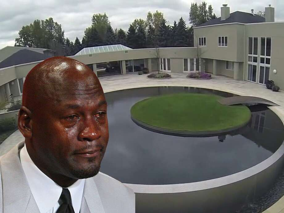Michael Jordan's enormous house in Chicago is still on the market after 