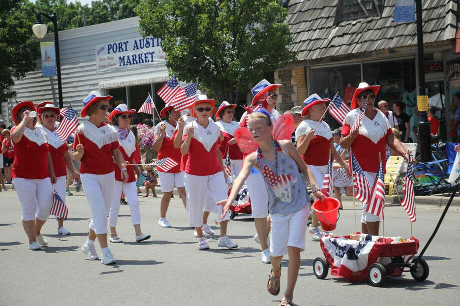 Thousands poured into Port Austin Wednesday afternoon to watch the village's Fourth of July parade. Photo: Seth Stapleton And Bradley Massman/Huron Daily Tribune