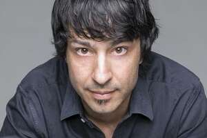 """Comedian Arj Barker performed for years in the off-Broadway show """"The Marijuana-Logues."""""""