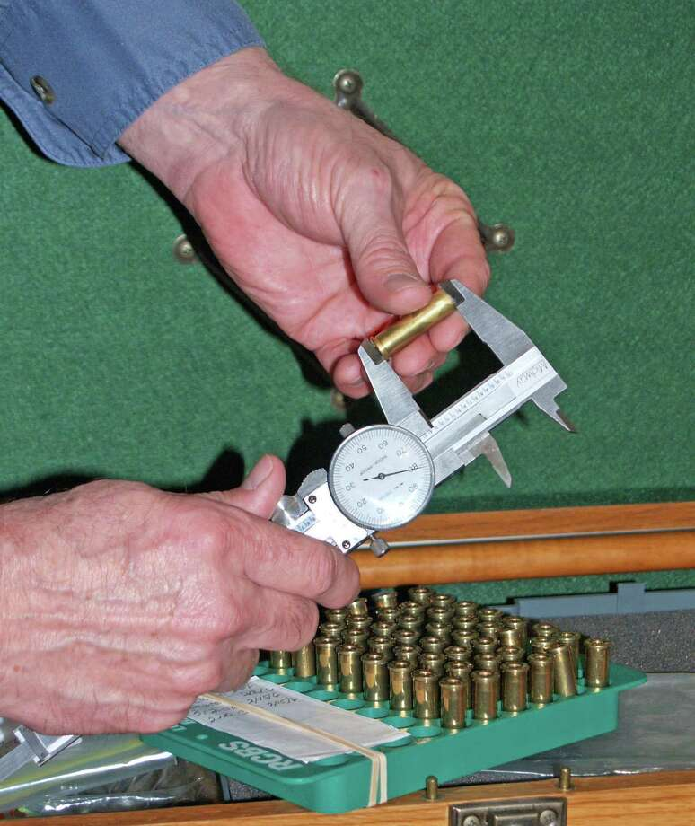Trimming case to exact length is only one of the important details necessary to maintain the accuracy of a load and make your firearm function properly. Photo: Larry J. LeBlanc