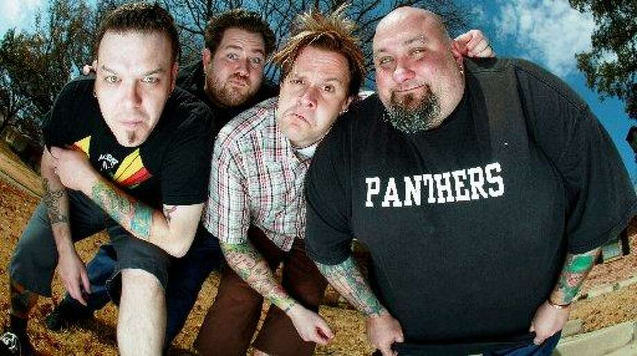 "Bowling For Soup: Texas pop-punk heroes keep it fun on songs such as ""1985"" and ""Girl All the Bad Guys Want."" Photo: Courtesy Photo"
