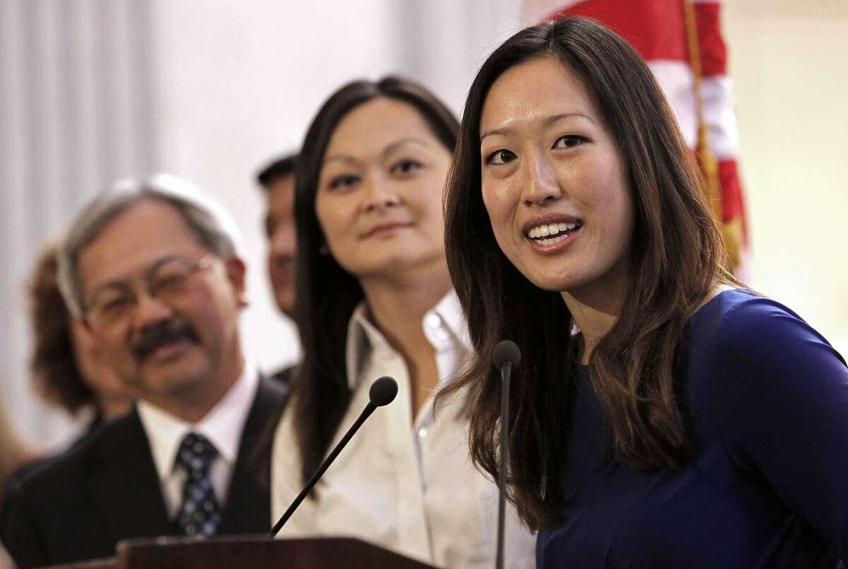 Incumbent Supervisor Katy Tang said early on that she won't run again.