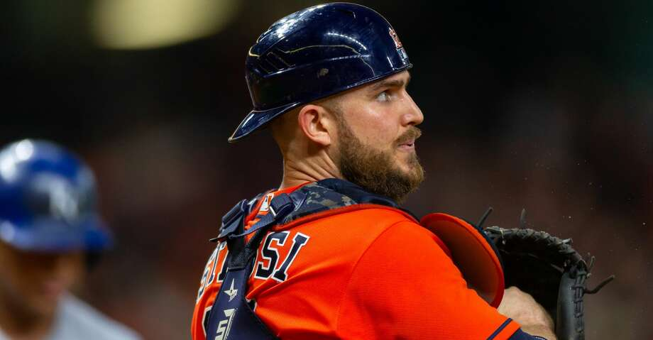 """PHOTOS: Astros game-by-game Manager A.J. Hinch said he hopes to play Max Stassi """"in the next day or so"""" when the Astros return home for a four-game series against the White Sox. Browse through the photos to see how the Astros have fared through each game this season. Photo: Icon Sportswire/Icon Sportswire Via Getty Images"""