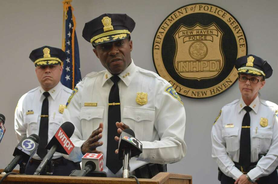 New Haven Police Chief Anthony Campbell. Photo: Clare Dignan / Hearst Connecticut Media File Photo