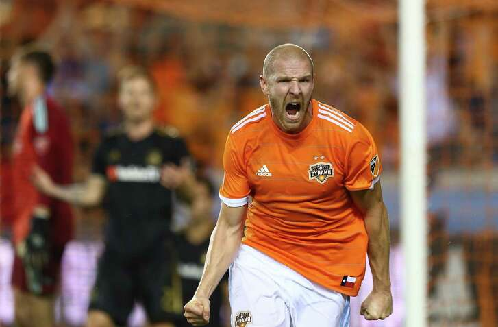The Dynamo's Philippe Senderos was a stalwart on defense, but his best contribution was his game-tying header Tuesday night.
