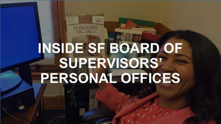 See what current and former members of the Board of Supervisors in SF have in their personal offices. Photo: Beth Spotswood