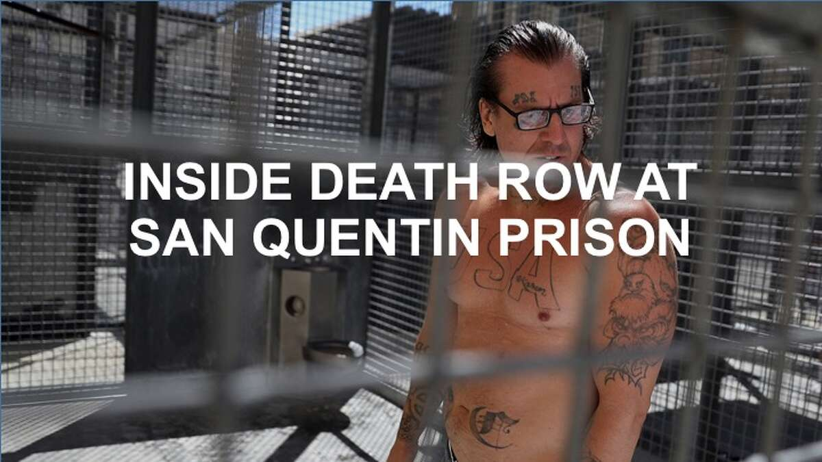 Click through to get a glimpse inside the world of death row at San Quentin Prison.