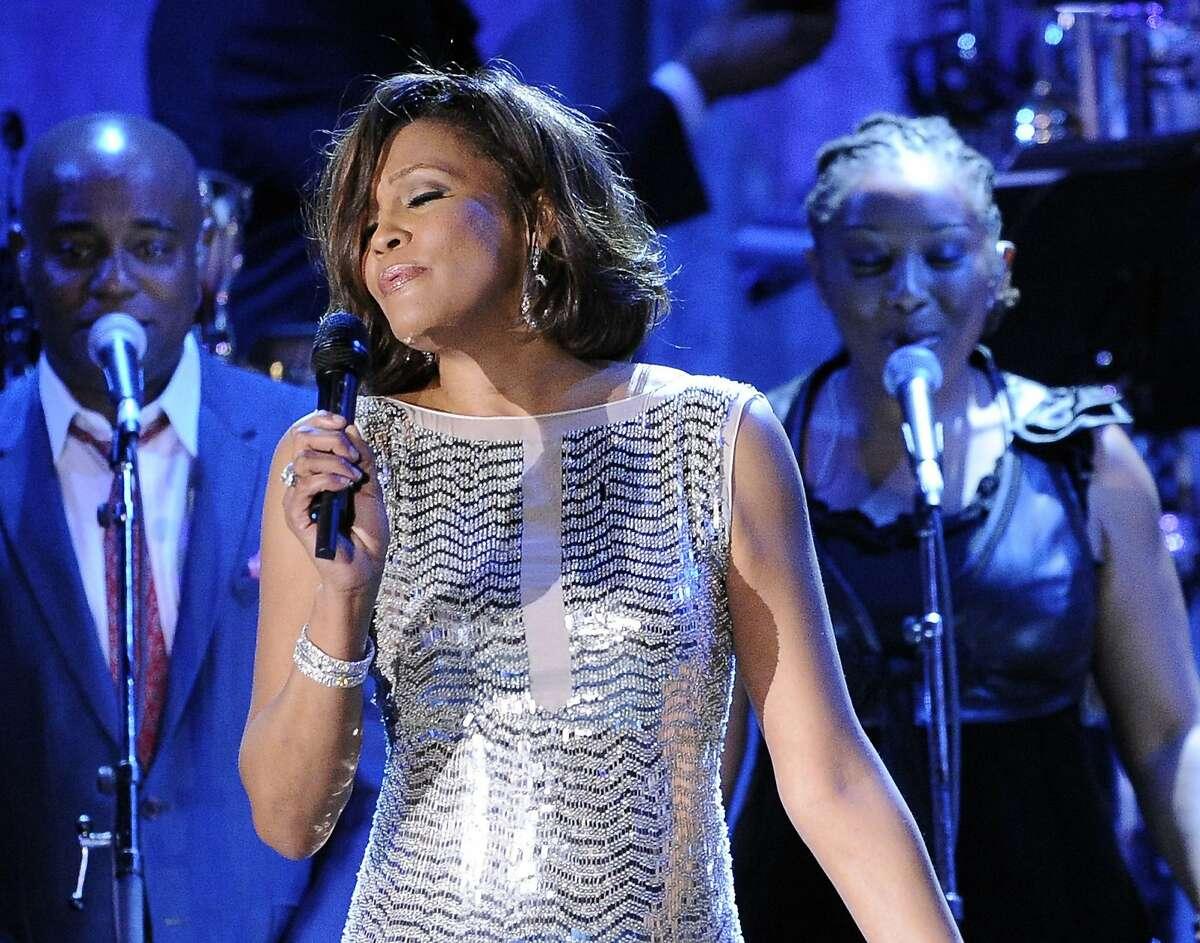 Who's in: Whitney Houston