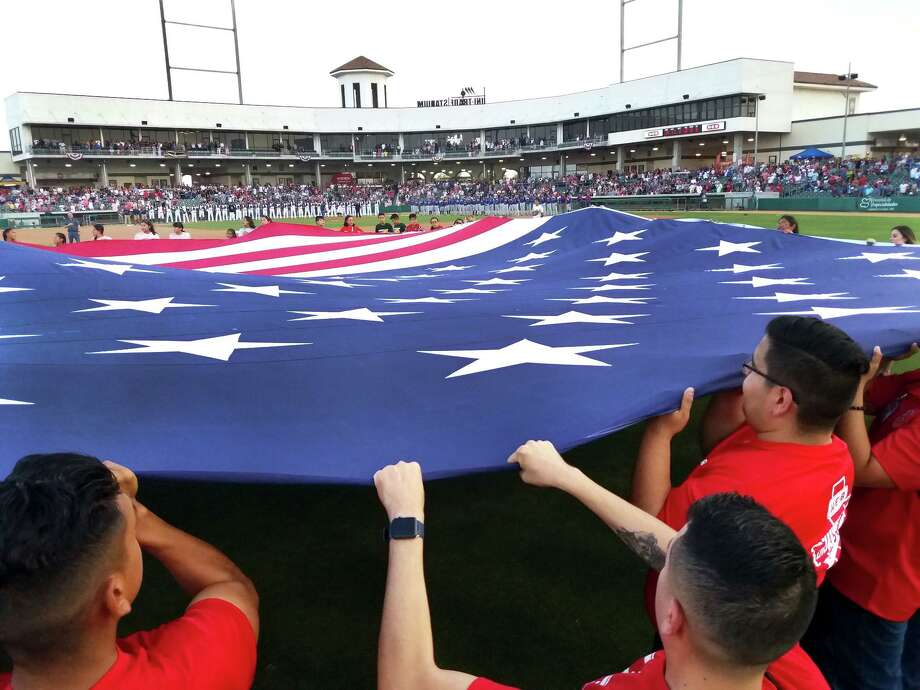 The Tecolotes celebrated Independence Day in 2018 at Uni-Trade Stadium in front of a new stadium record crowd of 8,136. Photo: Cuate Santos /Laredo Morning Times File / Laredo Morning Times