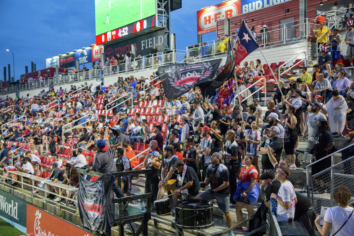 Fans came out to support San Antonio FC on a rainy Fourth of July.