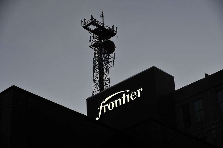 The exterior of the Frontier Communications building in downtown Stamford, Conn., on Thursday, Dec. 18, 2014. Photo: Jason Rearick / Jason Rearick / Stamford Advocate