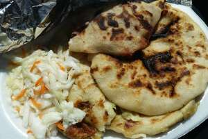Pupusa Buffet  7909 Hillcroft Menu: Pupusas. That's all.  Photo:  Yelp/Marlene T