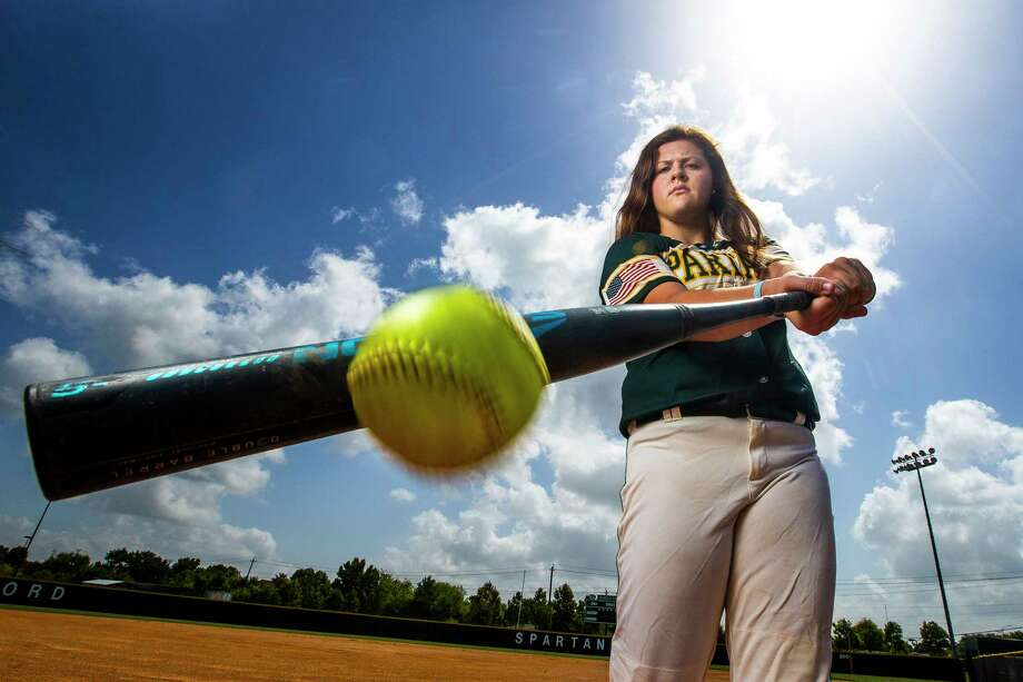 Stratford High School's Georgia Clark is the All-Greater Houston Softball Hitter of the Year Tuesday, July 3, 2018 in Houston. Photo: Michael Ciaglo, Houston Chronicle / Michael Ciaglo
