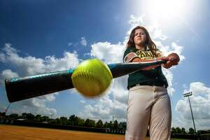 Stratford High School's Georgia Clark is the All-Greater Houston Softball Hitter of the Year Tuesday, July 3, 2018 in Houston.
