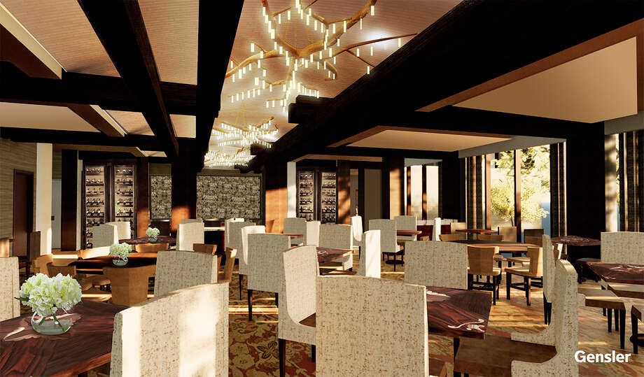 The Houstonian Hotel, Club & Spa will open a new restaurant, Tribute, in fall 2018. It replaces the former Olivette. Shown: Rendering of the new restaurant. Photo: The Houstonian