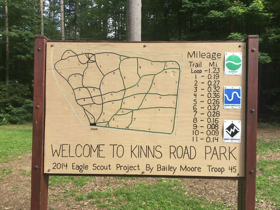 Ownership of 64 acres in Kinns Road Park has been transferred to the Clifton Park, which has been maintaining it all along. The park used to be in the hands of Saratoga County, which proposed logging operations in 2015. The land adds to the 32 acres at the park already owned by the town. (Provided) Photo: Provided By The Office Of Senator Jim Tedisco