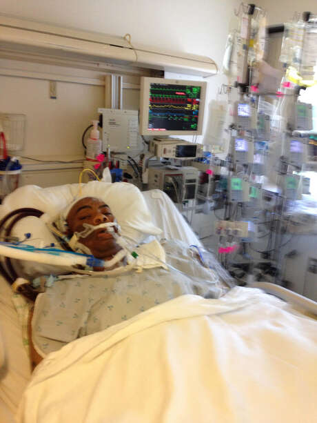 Ernest Keys is pictured after his 2016 heart transplant at St. Luke's. Photo: Courtesy Of The Family