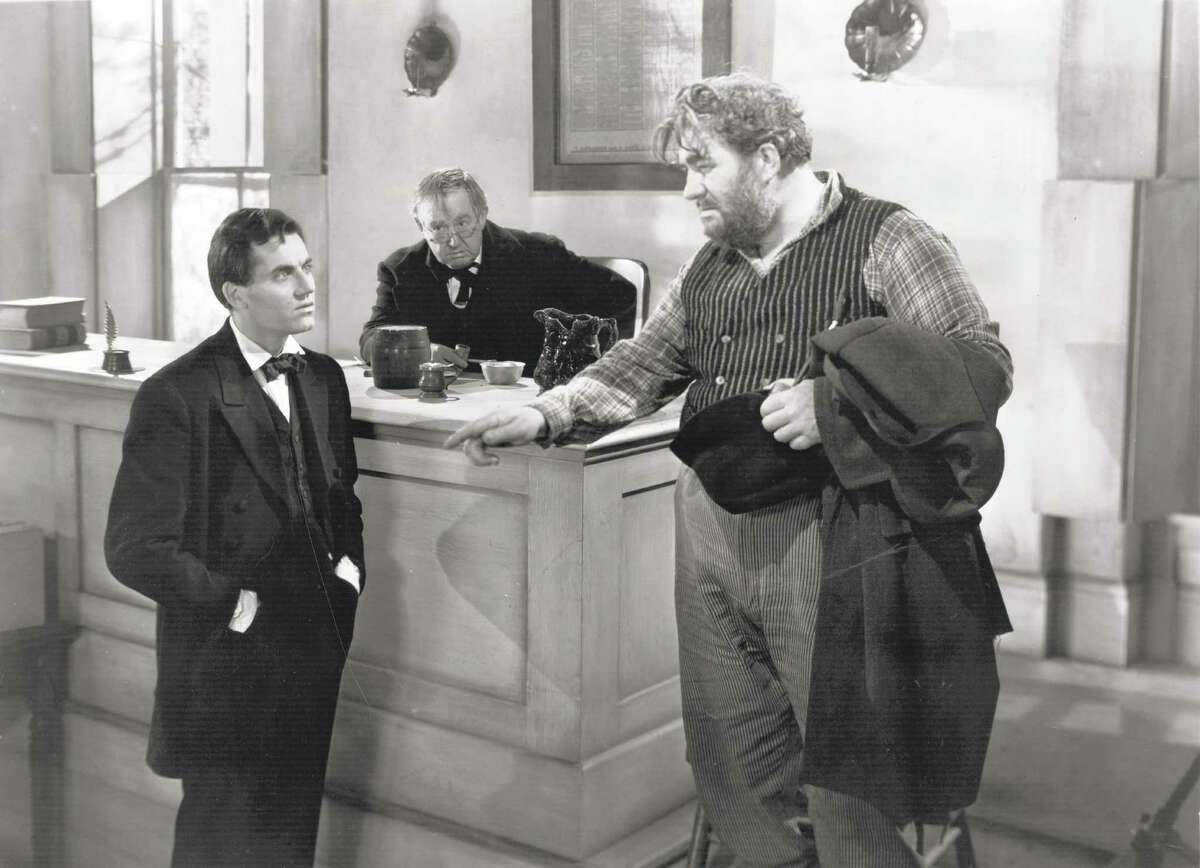 """Henry Fonda in """"Young Mr. Lincoln"""" - one of John Ford's brilliant films."""