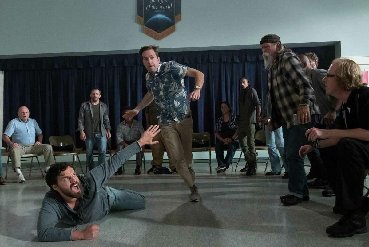 """Jake Johnson (left) and Ed Helms in """"Tag"""" - people were not rolling in the aisles."""