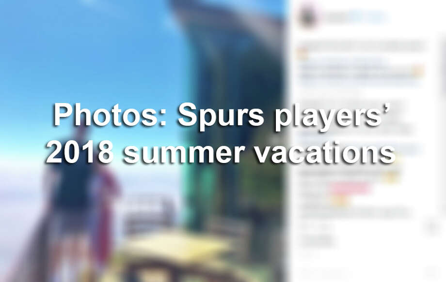 From staycations and catching up with old friends, to engagements and trips overseas, Spurs players went all out during the offseason. Click ahead to see how Spurs players spent their 2018 summer vacations.  Photo: Instagram Screengrab